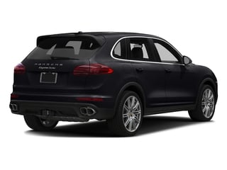 Jet Black Metallic 2018 Porsche Cayenne Pictures Cayenne Utility 4D S AWD V8 Turbo photos rear view