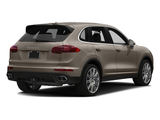 Palladium Metallic 2018 Porsche Cayenne Pictures Cayenne Utility 4D S AWD V8 Turbo photos rear view