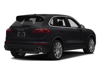 Black 2018 Porsche Cayenne Pictures Cayenne Utility 4D S AWD V8 Turbo photos rear view