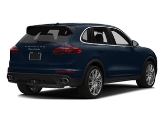 Moonlight Blue Metallic 2018 Porsche Cayenne Pictures Cayenne Turbo S AWD photos rear view