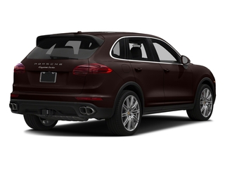 Mahogany Metallic 2018 Porsche Cayenne Pictures Cayenne Utility 4D AWD V8 Turbo photos rear view