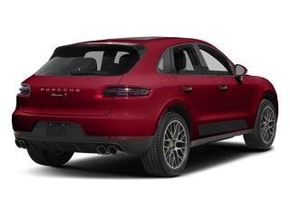 Carmine Red 2018 Porsche Macan Pictures Macan Utility 4D GTS AWD V6 Turbo photos rear view