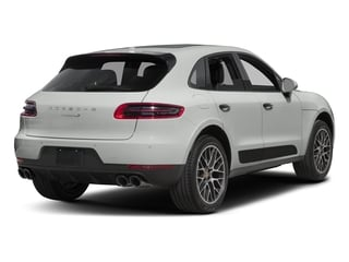 White 2018 Porsche Macan Pictures Macan Utility 4D GTS AWD V6 Turbo photos rear view