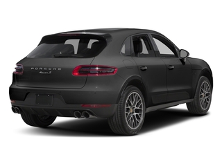 Volcano Grey Metallic 2018 Porsche Macan Pictures Macan Turbo AWD w/Performance Pkg photos rear view