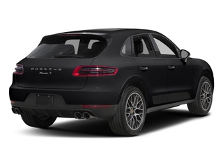 Black 2018 Porsche Macan Pictures Macan Turbo AWD w/Performance Pkg photos rear view