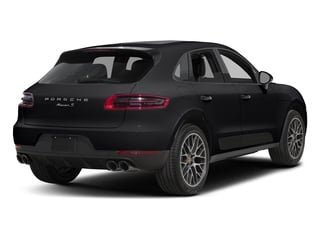 Black 2018 Porsche Macan Pictures Macan Utility 4D GTS AWD V6 Turbo photos rear view