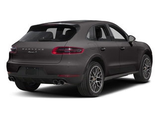 Agate Grey Metallic 2018 Porsche Macan Pictures Macan Turbo AWD w/Performance Pkg photos rear view
