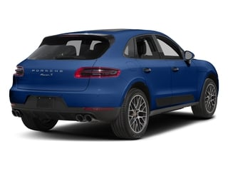 Sapphire Blue Metallic 2018 Porsche Macan Pictures Macan Turbo AWD w/Performance Pkg photos rear view