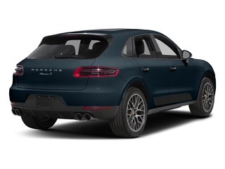 Night Blue Metallic 2018 Porsche Macan Pictures Macan Turbo AWD w/Performance Pkg photos rear view