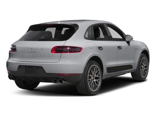 Rhodium Silver Metallic 2018 Porsche Macan Pictures Macan Turbo AWD w/Performance Pkg photos rear view