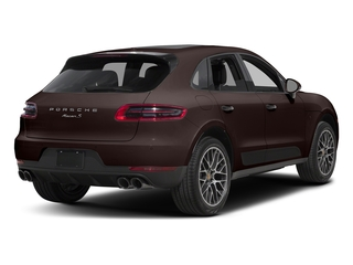 Mahogany Metallic 2018 Porsche Macan Pictures Macan Turbo AWD w/Performance Pkg photos rear view