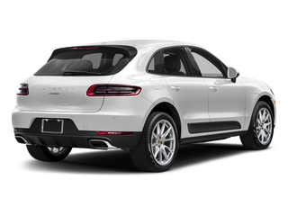 White 2018 Porsche Macan Pictures Macan Utility 4D AWD I4 Turbo photos rear view