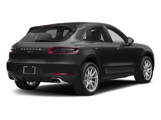 Black 2018 Porsche Macan Pictures Macan Utility 4D AWD I4 Turbo photos rear view