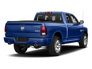 Blue Streak Pearlcoat 2018 Ram Truck 1500 Pictures 1500 Sport 4x4 Quad Cab 6'4 Box *Ltd Avail* photos rear view