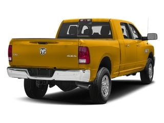 Construction Yellow 2018 Ram Truck 3500 Pictures 3500 Mega Cab Bighorn/Lone Star 2WD photos rear view