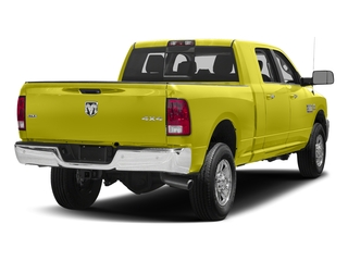 National Safety Yellow 2018 Ram Truck 3500 Pictures 3500 Mega Cab Bighorn/Lone Star 2WD photos rear view