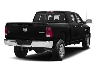 Black Clearcoat 2018 Ram Truck 3500 Pictures 3500 Mega Cab Bighorn/Lone Star 2WD photos rear view
