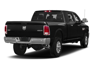 Brilliant Black Crystal Pearlcoat 2018 Ram Truck 3500 Pictures 3500 Limited 4x4 Mega Cab 6'4 Box photos rear view