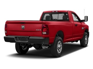 Bright Red 2018 Ram Truck 3500 Pictures 3500 Tradesman 4x2 Reg Cab 8' Box photos rear view