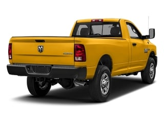 Construction Yellow 2018 Ram Truck 3500 Pictures 3500 Tradesman 4x2 Reg Cab 8' Box photos rear view