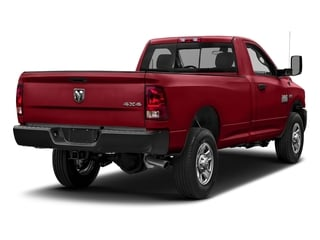 Flame Red Clearcoat 2018 Ram Truck 3500 Pictures 3500 Tradesman 4x2 Reg Cab 8' Box photos rear view