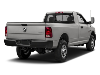 Bright Silver Metallic Clearcoat 2018 Ram Truck 3500 Pictures 3500 Tradesman 4x2 Reg Cab 8' Box photos rear view