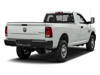 Bright White Clearcoat 2018 Ram Truck 3500 Pictures 3500 Tradesman 4x2 Reg Cab 8' Box photos rear view