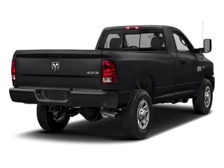 Black Clearcoat 2018 Ram Truck 3500 Pictures 3500 Regular Cab SLT 2WD photos rear view