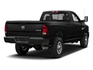 Brilliant Black Crystal Pearlcoat 2018 Ram Truck 3500 Pictures 3500 Tradesman 4x2 Reg Cab 8' Box photos rear view