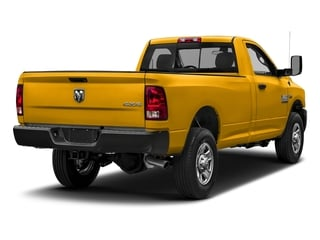 Detonator Yellow Clearcoat 2018 Ram Truck 3500 Pictures 3500 Tradesman 4x2 Reg Cab 8' Box photos rear view