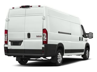 Bright White Clearcoat 2018 Ram Truck ProMaster Cargo Van Pictures ProMaster Cargo Van 3500 High Roof 159 WB EXT photos rear view