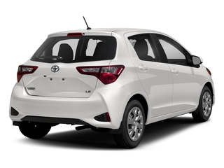 Super White 2018 Toyota Yaris Pictures Yaris Hatchback 5D L I4 photos rear view