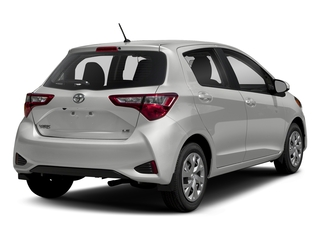 Classic Silver Metallic 2018 Toyota Yaris Pictures Yaris Hatchback 5D L I4 photos rear view