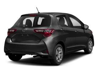 Magnetic Gray Metallic 2018 Toyota Yaris Pictures Yaris Hatchback 5D L I4 photos rear view