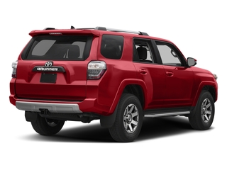 Barcelona Red Metallic 2018 Toyota 4Runner Pictures 4Runner TRD Off Road 4WD photos rear view