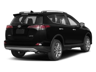 Black 2018 Toyota RAV4 Pictures RAV4 Utility 4D Limited 2WD I4 photos rear view