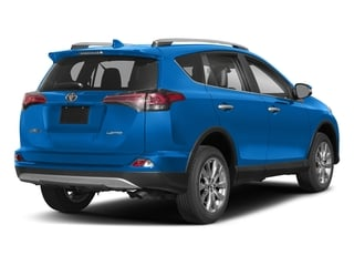 Electric Storm Blue 2018 Toyota RAV4 Pictures RAV4 Utility 4D Limited 2WD I4 photos rear view
