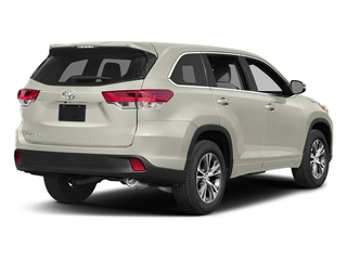 Blizzard Pearl 2018 Toyota Highlander Pictures Highlander Utility 4D LE Plus 4WD V6 photos rear view