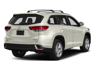 Blizzard Pearl 2018 Toyota Highlander Pictures Highlander Utility 4D Limited 4WD V6 photos rear view