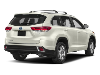 Blizzard Pearl 2018 Toyota Highlander Pictures Highlander Utility 4D Limited 4WD V6 Hybrid photos rear view