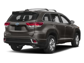 Predawn Gray Mica 2018 Toyota Highlander Pictures Highlander Utility 4D Limited 4WD V6 Hybrid photos rear view