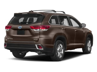 Toasted Walnut Pearl 2018 Toyota Highlander Pictures Highlander Utility 4D Limited 4WD V6 Hybrid photos rear view