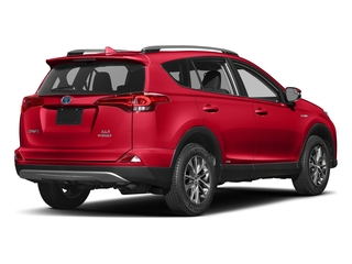Ruby Flare Pearl 2018 Toyota RAV4 Pictures RAV4 Utility 4D XLE AWD I4 Hybrid photos rear view