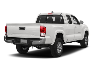 Super White 2018 Toyota Tacoma Pictures Tacoma SR5 Extended Cab 4WD I4 photos rear view