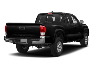 Midnight Black Metallic 2018 Toyota Tacoma Pictures Tacoma SR5 Extended Cab 4WD I4 photos rear view