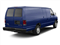 Dark Blue Pearl Metallic 2010 Ford Econoline Wagon Pictures Econoline Wagon Super Duty Extended Wagon XL photos rear view