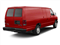 Vermillion Red 2010 Ford Econoline Wagon Pictures Econoline Wagon Super Duty Extended Wagon XL photos rear view