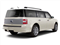 White Platinum Metallic Tri-Coat 2010 Ford Flex Pictures Flex Wagon 4D Limited AWD photos rear view
