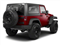 Deep Cherry Red Crystal Pearl Coat 2011 Jeep Wrangler Pictures Wrangler Utility 2D Rubicon 4WD photos rear view