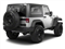 Bright Silver Metallic 2011 Jeep Wrangler Pictures Wrangler Utility 2D Rubicon 4WD photos rear view
